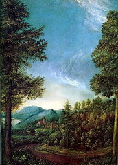 Danube Landscape (lluisribesmateu1969) Tags: 16thcentury landscape altdorfer altepinakothek munich