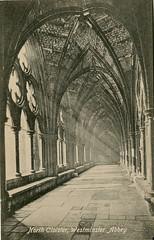 1905 London (Steenvoorde Leen - 2.3 ml views) Tags: londen london 1905 ansichtkaart postkaart postcards postkarte karte card westminsterabbey great britain gb england