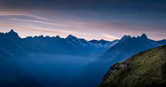 An early start (Frank Busch) Tags: berlinerhhenweg frankbusch frankbuschphotography imagebyfrankbusch photobyfrankbusch austria hiking john morning morninglight mountains sunrise tracy wwwfrankbuschname zillertal