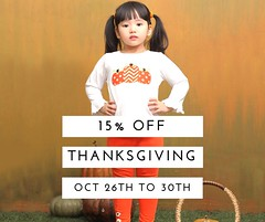 Thanksgiving sale off (babeeniclothing) Tags: girl design beautiful fashion cute thanksgiving holiday smocked applique children sweater winter love