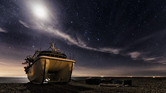 Julie Jean (Child of Rarn) Tags: boat countryside coast d7000 landscape longexposure dungeness tokina111628