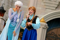 When people ask if I'm a Frozen fan (jordanhall81) Tags: frozen elsa anna queen princess arendale norway sister sisters magic snow ice freeze mickeys royal friendship faire mrff show live performer entertainment face character dancer mickey mouse cinderella castle kingdom mk walt disney world wdw resort theme park amusement lake buena vista lbv orlando florida