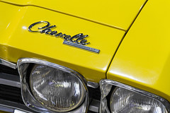 Chevrolet Chevelle (Dj_morex) Tags: motorshow larural garagetv expo argentina buenosaires cars exposition vehicle oldcars carshow chevrolet chevelle yellow closeup detail detalle