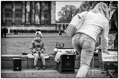 ... not my day (SvenConquest) Tags: berlin deutschland street photography streetphotography streetfotografie spezial reportage dokumentation outdoor bw monochrome classicblackwhite noiretblanc city people urban conquest