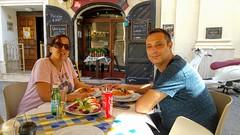 (Nimrod Bar) Tags: travel malta food valletta me tammy lunch coke la pira