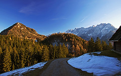 In the upper Komatevra valley (Vid Pogacnik) Tags: karavanke slovenia slovenija karawanken hiking outdoor landscape mountain mountainside mountainridge