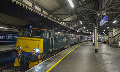 57603 1C99 Paddington to Penzance Sleeper 04102016 (Waddo's World of Railways) Tags: 603 57 57603 1c99 class57 sleepertrain locohauled paddington londonpaddington gwr sleeper bedz beds loco locomotive rail railway station platform night dark terminus uk england outdoor gm engine diesel penzance sleep padd coaches ying bodysnatcher