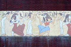 DSC_3210 (Patrick Hadfield) Tags: hieroglyphs painting pictogram wall brick egyptian art