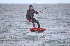 Windy fun (`miRim ) Tags: margate thanet kent westbrookbeach hydrofoil kitesurfhydrofoil kitesurfing sigma500mm canon hobby