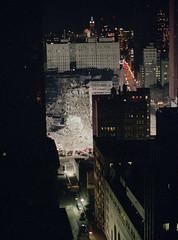 911_05 (Chris Protopapas) Tags: wtc pentax 911 september11 2001 manhattan newyorkcity ruins destruction