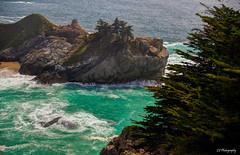 Arrow through my blood (.KiLTRo.) Tags: bigsur california unitedstates kiltro beach sea ocean rock tree cypress seascape water wave