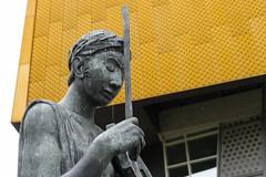 Berlin Philharmonia XIII (Tom Levold (www.levold.de/photosphere)) Tags: berlin fuji fujixpro2 xpro2 xf18135mm architektur architecture art kunst skulptur sculpture philharmonie philharmonia