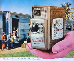 1950s Kodak Medallion 8 Camera Ad (Christian Montone) Tags: ads advertising vintageads adverts vintage print printads 1950s midcentury