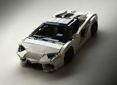 Lamborghini Aventador 700-4 Roadster (Luke-M) Tags: lego legobro legocar lamborghini aventador