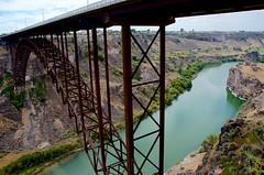 Bridge Over Heated Waters (hectic skeptic - I've returned!) Tags: osceola nevada ghosttown prosectorsinn elynevada markamorgan twinfalls snakeriver