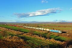 Train 30651 (Krali Mirko) Tags: bdz cargo freight train electric locomotive electroputere 060ea 46002 lozarevo bulgaria railway transport