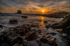 Sunset (hy931) Tags: seascape oceanview littlecorona coronadelmar sunset
