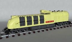 STW-1000 (Sunder_59) Tags: lego moc mecabricks blender3d render train vehicle transport