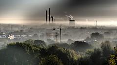 P8260559_A (PawelPach) Tags: krokw cracow krakow urban city landscape poland polska smog fog chimneys factory smoke smokestack stack urbanlandscape