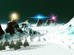 Arctic lights (xandolowenhardt1) Tags: 3d 3dart 3ddesign design pretty amazing flickr colorful life sunset sky nature portrait art light clouds sun landscape new winter winterscene snow
