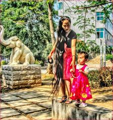 The long hair of a lady (Bruno Zaffoni) Tags: xishuanbanna yunnan china hdr jinghong