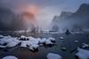 Yosemite Magic (rajaramki) Tags: yosemite winteryosemite yosemitesnow gatesofthevalley yosemitevalley yosemitesunset elcapitansunset