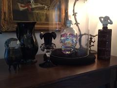 SPIRIT BOOK BOTTLE (Cabinet of Old Secret Loves) Tags: crystal head vodka skull skeleton halloween spirit spirits ghosts fall autumn simon simonsays
