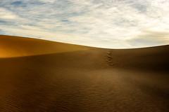Silicon Dioxide Sunrise (garshna) Tags: dunes sand sunrise ripples sky clouds deathvalleynationalpark nikon silicondioxide landscape