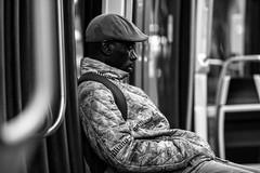 IMG_6660 (Lens a Lot) Tags: ebc fujinon t 135mm 25 1974 | 6 blades iris m42 f25 paris 2016 metro gate station subway underground black white street photography noir et blanc monochrome personnes intrieur candid portrait