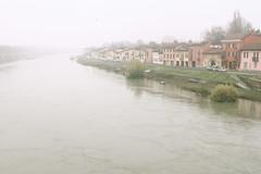 Dopo la piena (margot 52) Tags: pavia borgoticino piena ticino nebbia fiume