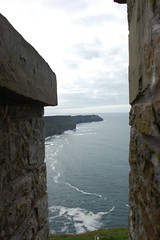 Cliffs of Moher from OBriens Tower (ManuWolf) Tags: cliffsofmoher aillteanmhothair coclare ireland