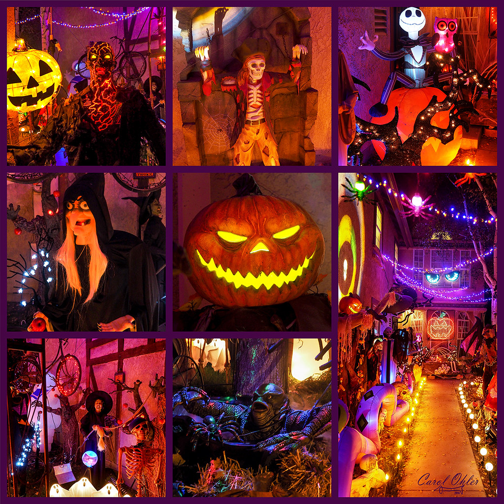 Christmas Decorations Santa Clarita Ca: The World's Best Photos Of Collage And Halloween