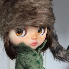 Hello Autumn, my latest custom. She is a Cherie Babette #ladidadidolls #blythe