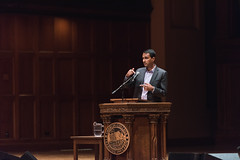 Convocation: Eboo Patel (Oberlin College) Tags: lecture event unitedstates lectureevent oberlincollege finneychapel socialjustice convocation