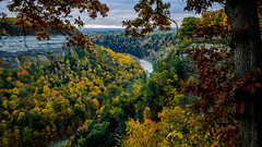Scenic Overlook (Paul Bryd) Tags: landscape nature state park letchworth water falls geneseeriver gorge