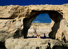 Gozo: Azure Window, children for scale (keithb_b) Tags: gozo nikcolorefexpro