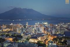 Sakurajima・Kagoshima (happykiddo) Tags: happykiddo nikon d800 carlzeiss makroplanar t 50mm f2 japan kagoshima sakurajima 日本 鹿兒島 櫻島 火山 volcano cityscape night nightscape longexposure