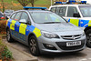 South Yorkshire Police Vauxhall Astra Estate Serious Collision Unit (PFB-999) Tags: south yorkshire police syp vauxhall astra estate car vehicle unit section lightbar grilles leds yn64abu