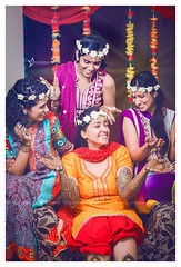 Candid Captures.. (Vipul Sharma 007) Tags: happiness smile love cute adorable weddingday mehendi henna designs candid shot floral theme tiaras princess diaries best wedding fashion photographer vipul sharma chandigarh mohali punjab