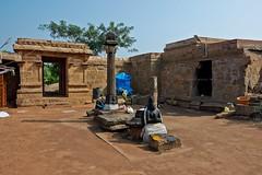 "Malaiyadipatti (Olipathi Vishnu Girugam)- Rock-Cut Cave Temple-Pudukottai District. (Kalai ""N"" Koyil) Tags: nikon d 5200 tokina 1116mm 2015 olipathi vishnu girugam malaiyadipatti rockcut cavetemple pudukottai district keeranurkillukkottairoad outerview tamilnadu southindiantemple architecture kalainkoyil"