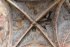 Aumale (Seine-Maritime) - glise Saint-Pierre-Saint-Paul - Chapelle du Saint-Spulcre - Fresques (Morio60) Tags: aumale seinemaritime 76 normandie glise saintpierre saintpaul