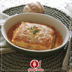 Lasanha de Berinjela (Almanaque Culinário) Tags: receita food recipe comida culinária gastronomia