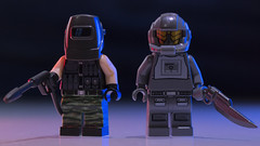 Cyberpunk Figbarf: Street Justice (Just Bricks) Tags: lego cyberpunk justic street figbarf fiction science minifigure