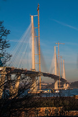 Queensferry Crossing from the south (Briantc) Tags: scotland forth riverforth queensferry queensferrycrossing bridge bridgeconstruction