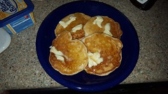 Homemade Pancakes (cjacobs53) Tags: jacobs jacobsusa 116picturesin2016 scavenger hunt annual yearly food pancake butter syrup plate flickrbingo4 bingo notonmycard flickrbingo4b7 gourmandize
