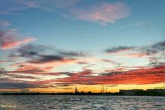 Neva River, St. Petersburg, Russia (rrnavero) Tags: río ríoneva sanpetersburgo nocturna rusia russia agua airelibre jesúsmaríamartín canoneos6d canon1635lf4is paisajeurbano paisaje