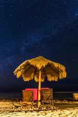 Milkyway over the Beach (BS_86) Tags: canon eos 6d lightroom night nacht mexico mexiko november beach strand liegestuhl milchstrasse milkyway stars sterne sand longexposure langzeitbelichtung travel reisen outdoor ocean ozean ferien vacation
