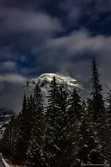 Mount Brown IV (steve rubin-writer) Tags: mountains amazing best ever photo flickr glacier park montana mount brown snow cap peak cloud color