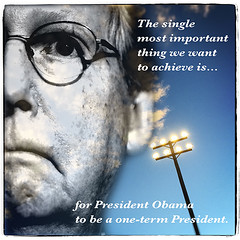 American Icons: McConnell (mdt1960) Tags: mitchmcconnell quotes politics patriot gop assclown collage