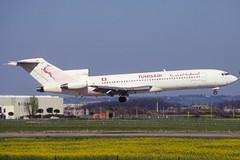 Tunisair B727-2H3 TS-JHW TLS 02/04/1995 (jordi757) Tags: airplanes avions tls lfbo toulouse blagnac boeing 727 b727 b727200 tunisair tsjhw